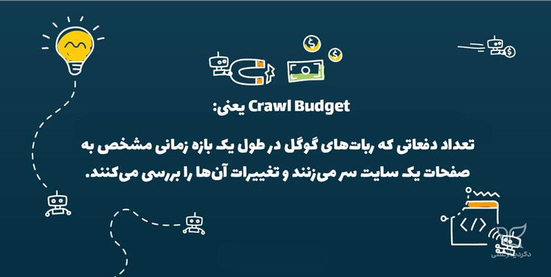 تعریف crawl budget چیست