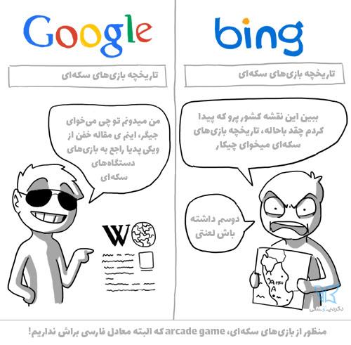گوگل بهترین موتور جستجوی دنیاست به همین خاطر وقتی میگیم سئو ینی گوگل!