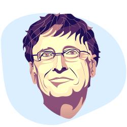 نظر بیل گیتس درباره اهمیت طراحی سایت و کسب و کار اینترنتی