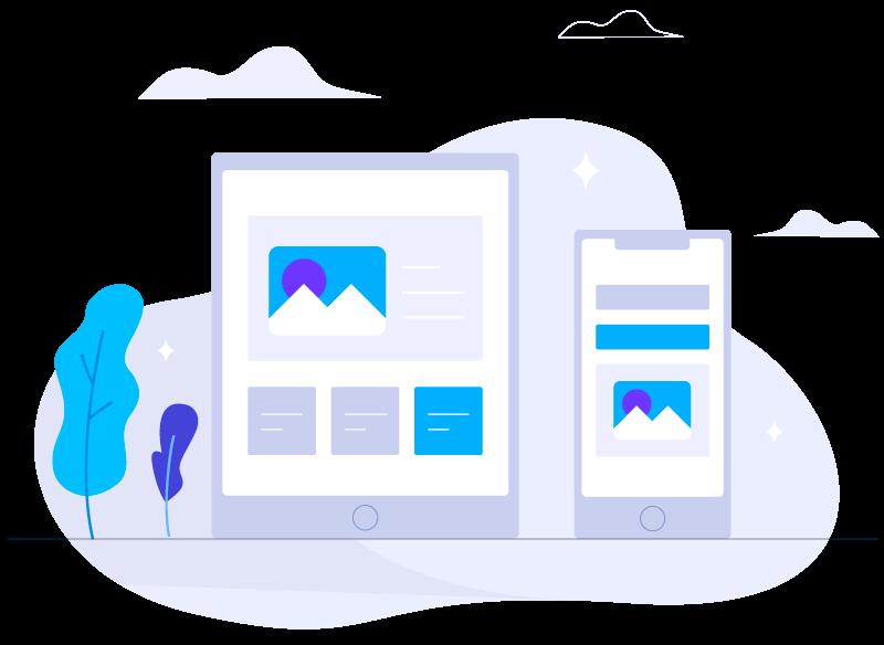 طراحی سایت واکنشگرا و ریسپانسیو در موبایل و تبلت وب سایت شما درست نمایش داده میشود
