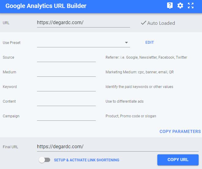 اکستنشن گوگل کروم برای ساخت لینک UTM